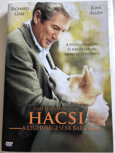 Hachiko: A Dog's Story DVD 2008 Hacsi a leghűségesebb barát / Directed by Lasse Hallstrom / Starring: Richard Gere, Joan Allen (5996514001709)