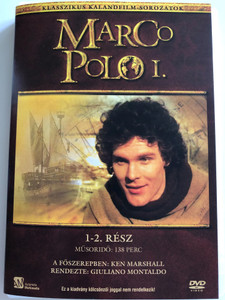 Marco Polo I. DVD 1982 / Directed by Giuliano Montaldo / Starring: Ken Marshall, Den Holm Eliott, Tony Vogel, Ying Ruo Cheng / Episodes 1-2. (5999552560344)
