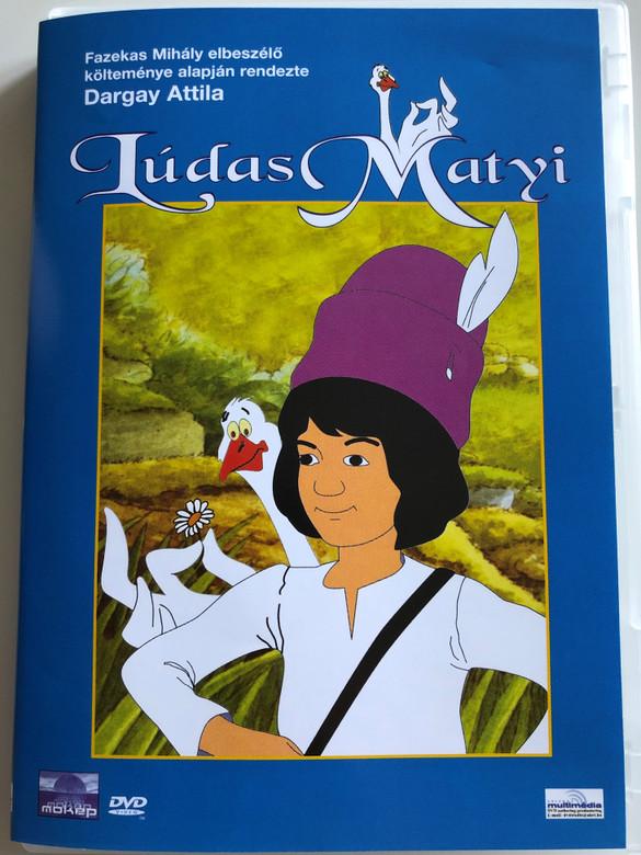 Mattie The Gooseboy DVD 1977 Lúdas Matyi / Directed by: Dargay Attila / Hungarian Cartoon / Magyar mesefilm / Written by Fazekas Mihály (5996357340782.)