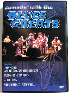 Jammin' with the Blues Greats DVD 1994 / Featuring: John Mayall and the Original Bluesbreakers / Buddy Guy, Etta James / Albert King / Sippie Wallace - Junior Wells (5034504922471)