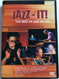 Jazz-it! DVD 2003 / The Best of Jazz on TDK / Herbie Hancock, Ron Carter, Stan Getz, Oscar Peterson, Gil Evans, McCoy Tyner / DV-JSMPL1 (5450270008155)