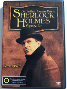 The Return of Sherlock Holmes DVD 1986 Sherlock Holmes Visszatér 1. / Directed by Peter Hammond, Howard Baker / Written by Sir Arthur Conan Doyle / Episodes: The Abbey Grange, The Empty House (5999545586160)