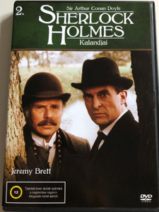 The Adventures of Sherlock Holmes 2. DVD Sherlock Holmes Kalandjai / Directed by Alan Grint, Paul Anett, John Bruce, David Carson / Starring: Jeremy Brett, John Hawkesworth, Jeremy Paul, Derek Marlowe, David Burke / Granada TV Series / 2 Episodes on Disc (5999545585491)
