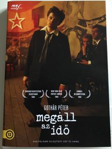 Time Stands Still DVD 1981 Megáll az idő / Directed by Gothár Péter / Starring: Znamenák István, Pauer Henrik, Sőth Sándor, Iván Anikó, Kakassy Ági / Hungarian film (5999887816390)