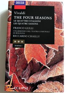 Vivaldi – The Four Seasons / Franco Gulli / I Filarmonici Del Teatro Di Bologna / Conducted: Riccardo Chailly / DECCA CASSETTE STEREO / 448 225-4