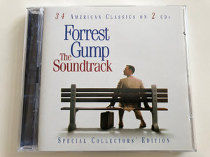 Forrest Gump - The Soundtrack / 34 American Classics on 2 CDs / Special Collector's Edition / Epic EPC 5044942 / Audio CD SET 1994 (5099750449424)