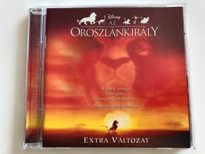 The Lion King OST / Az Oroszlánkirály filmzene / Extra Változat / Music by Elton John, Lyrics by Tim Rice, Film Soundtrack by Hans Zimmer / Audio CD 2003 / Disney (5050466891327)