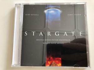 Stargate - Original motion picture Soundtrack / Music By David Arnold / Kurt Russel, James Spader / Audio CD 1994 (5050466307927)