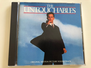 The Untouchables / Original motion picture soundtrack / Music composed, orchestrated & conducted by Ennio Morricone / Audio CD 1987 / A&M Records 393 909-2 (08283939092)