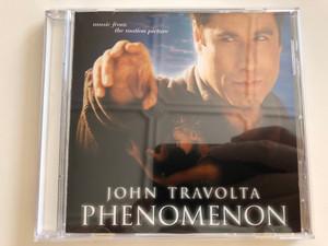 Phenomenon - John Travolta - Music from the motion picture / Audio CD 1996 / WE 833 (093624636021)