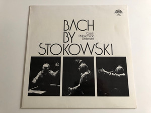 Bach By Stokowski / Czech Philharmonic Orchestra / SUPRAPHON LP STEREO / 1110 1953