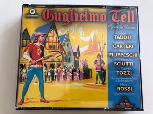 Gioachino Rossini - Guglielmo Tell / 3 CD / Giuseppe Taddei, Rosanna Carteri, Mario Filippeschi, Graziella Sciutti / Orchestra Sinfonica e Coro di Torino della RAI / Conducted by Mario Rossi / Warner Fonit Audio CD 2001 / (0685738748921)