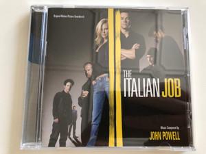 The Italian Job - Original Motion Picture Soundtrack / Music by John Powell / Varése Sarabande Audio CD 2003 (030206648225)