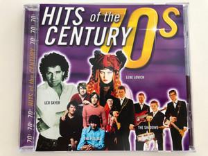 Hits of the Century - 70s / Lene Lovich, Leo Sayer, The Hollies, The Shadows / Disky Audio CD 1999 / DC 859622 (0724348596222)