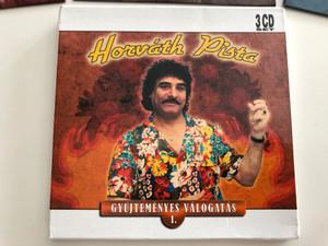 Horváth Pista - Gyűjteményes Válogatás 1. / 3 CD set / Hungarian popular folk songs / Art media / 3x Audio CD / 08592 RNR (5998557185927)
