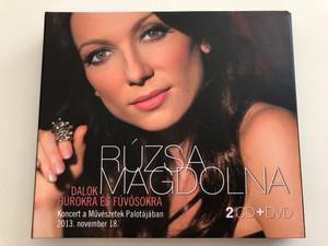 Rúzsa Magdolna - Dalok Húrokra és Fúvósokra / 2 CD + DVD / Koncert a Művészetek Palotájában / 2013. nov. 18. / MTVA 1222/1-3 (5999542818820)