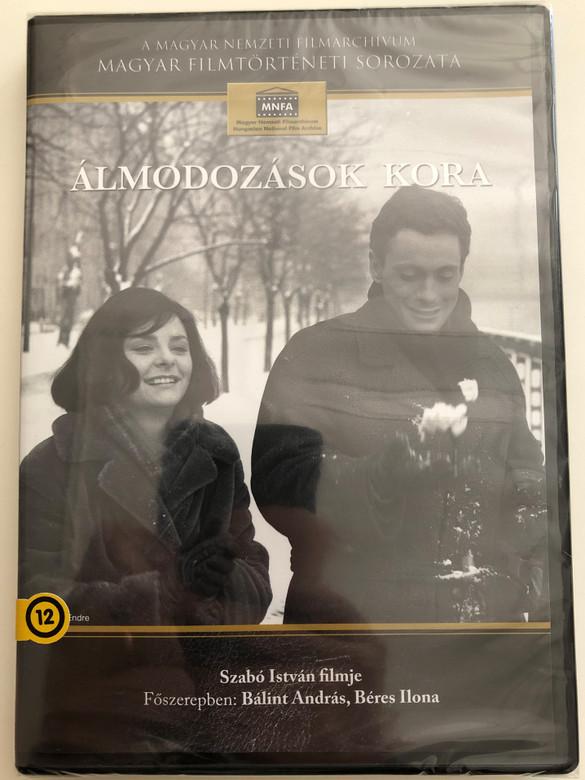 Álmodozások kora DVD 1964 Age of Daydreaming / Written & Directed by Szabó István / Starring: Bálint András, Béres Ilona, Halász Judit, Sólyom Kati, Sinkovits Imre, Bujtor István (5999884681076)