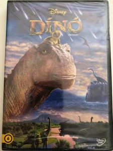 Dinosaur DVD 2000 Dínó / Directed by Ralph Zondag, Eric Leighton / Starring: D. B. Sweeney, Alfre Woodard, Ossie Davis, Max Casella, Hayden Panettiere (5996514013252)