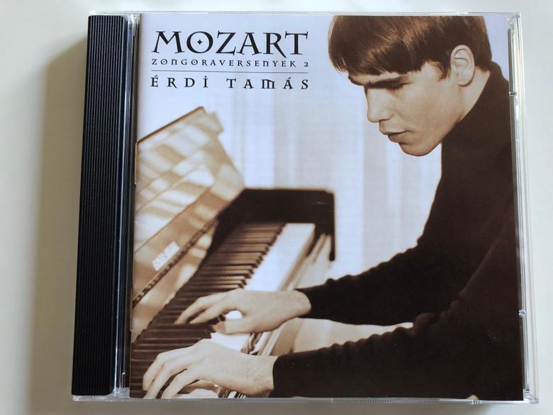 Mozart (zongoraversenyek 2) - Erdi Tamas / MEGA Audio CD / MCDA 87902