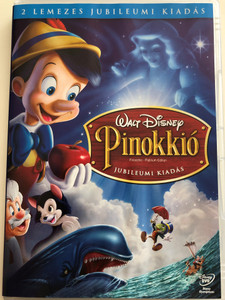 Pinocchio - Platinum edition DVD 1940 Pinokkió Jubileumi kiadás / 2 DVD edition / Directed by Ben Sharpsteen, Hamilton Luske / Starring: Cliff Edwards, Dickie Jones, Christian Rub, Mel Blanc (5996255728903)