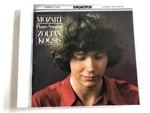 Mozart - Piano Sonatas / Zoltán Kocsis / Hungaroton Audio CD Stereo 1980 / HCD 12219-2