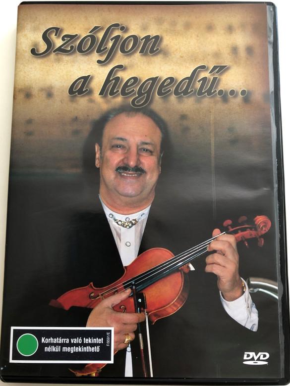 Szóljon a hegedű... DVD Ifj. Sánta Ferenc / Hungarian Gypsy Orchestra / Conducted by Szenthelyi Miklós / Mókép - Mtv / Compilated by Nemlaha György (5996357344087)