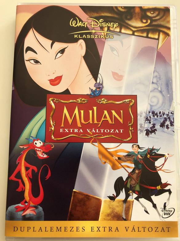 Mulan Special Edition 2 DVD 1998 Mulan Extra Változat / Duplalemezes Extra Változat / Directed by Barry Cook, Tony Bancroft / Starring: Ming-Na Wen, Eddie Murphy, BD Wong, Miguel Ferrer, June Foray (5996255714500)