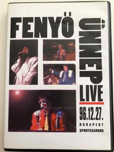 Fenyő Ünnep Live DVD 1996 / 96.12.27 Budapest Sportcsarnok / 2 DVD Live Concert Recording / Magneoton / Produced by Rózsa István (5050467280427)