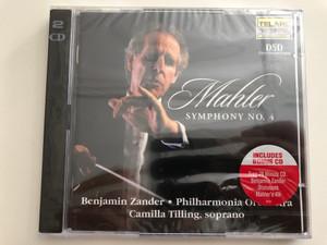 Mahler - Symphony No. 4 / Benjamin Zander / Philharmonia Orchestra / Camilla Tilling, soprano / Includes Bonus CD / 2CD Audio Set / Telarc Digital (089408055522)