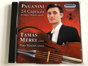 Paganini - 24 Caprices & other virtuoso pieces / Cello: Tamas Merei, piano: Peter Koczor / Hungaroton 2X Audio CD 2000 Stereo / HCD 31926-27