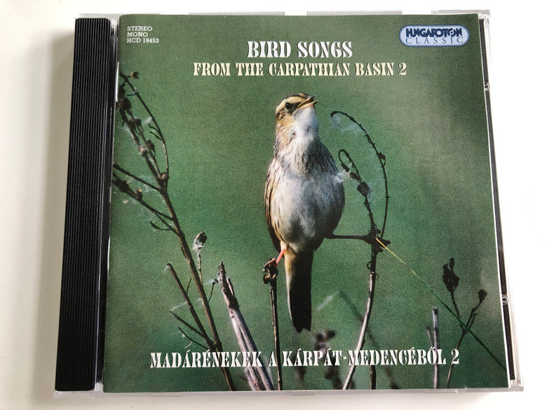 Bird Songs from the Carpathian Basin 2 / Madarenekek A Karpat-Medencebol 2 / Hungaroton Audio CD 2001 Stereo / HCD 19453