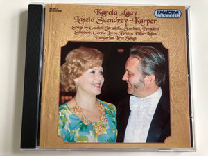 Karola Agay, Laszlo Szendrey - Karper / Songs By Caccini, Stradella, Scarlatti, Pergolesi, Schubert, Garcia Lorca, Britten Villa-Lobos / Hungarian Love Songs / Hungaroton Audio CD 2000 Mono / HCD 31998