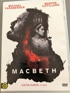 Macbeth DVD 2015 / Directed by Justin Kurzel / Starring: Michael Fassbender Marion Cotillard / Based on drama by W. Shakespeare (5999546337716)