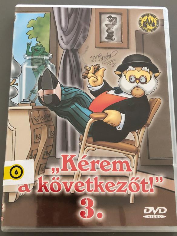 """""""Kérem a következőt"""" 3. DVD 1974 / Hungarian Cartoon TV Series / Written by Rohmányi József / Directed by Nepp József, Ternovszky Béla (5996051510122)"""