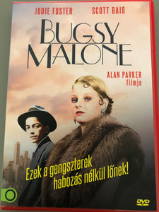 Bugsy Malone DVD 1976 / Directed by Alan Parker / Starring: Jodie Foster, Scott Baio, John Cassisi, Martin Lev (5999546338348)