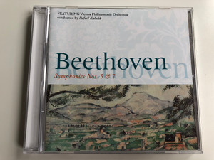 Beethoven - Symphonies nos.5 & 7 / FEATURING Vienna Philharmonic Orchestra / Conducted: Rafael Kubelik / Belart Audio CD 1993 / 450 038-2