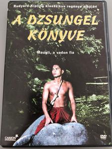 Rudyard Kipling's Jungle Book DVD 1942 A dzsungel könyve / Directed by Zoltan Korda / Starring: Sabu, Patricia O'Rourke, Joseph Calleia, John Qualen, Frank Puglia, Rosemary DeCamp / Maugli, a vadon fia / Kipling klasszikus regénye alapján (5999546330458)