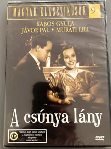 The ugly girl DVD 1935 A csúnya lány / magyar romantikus vígjáték / Jávor Pál, Muráti Lili és Kabos Gyula főszereplésével / Directors: Gaál Béla, Henry Koster / Hungarian B&W romantic comedy (5999544560215)