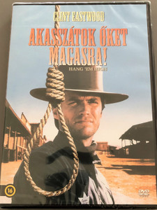 Hang 'em High DVD Akasszátok őket magasra! / Directed by Ted Post / Starring: Clint Eastwood, Inger Stevens, Ed Begley, Pat Hingle / Classic Western (5999546335620)