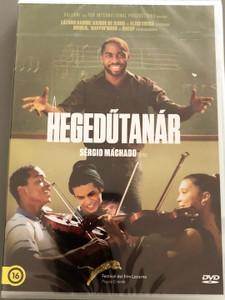 The Violin Teacher DVD 2015 A Hegedűtanár / Directed by Sérgio Machádo / Starring: Fernanda de Freitas, Kaique de Jesus, Lázaro Ramos, Elzio Vieira (5999546338201)