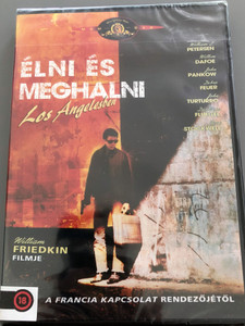 To live and Die in LA DVD 1985 Élni és meghalni Los Angelesben / Directed by William Friedkin / Starring: William L. Petersen, Willem Dafoe, John Pankow (5999546336047)