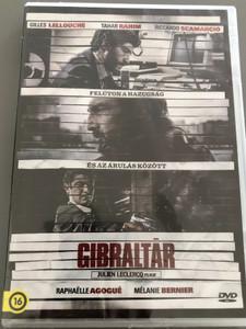 Gibraltar DVD 2013 Gibraltár (The Informant) / Directed by Julien Leclercq / Starring: Gilles Lellouche, Tahar Rahim, Riccardo Scamarcio, Elizabeth Rohm, Peter Berg (5999546337181)