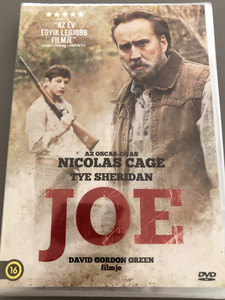 Joe DVD 2013 / Directed by David Gordon Green / Starring Nicolas Cage, Tye Sheridan (5999546336610)