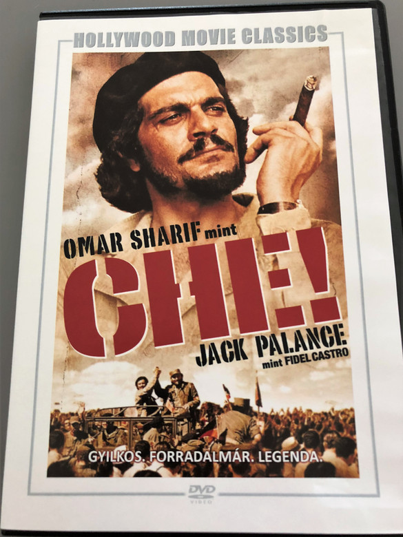 Che! DVD 1969 / Directed by Richard Fleischer / Starring: Omar Sharif, Jack Palance / Hollywood Movie Classics / Gyilkos. Forradalmár. Legenda (5999546335279)