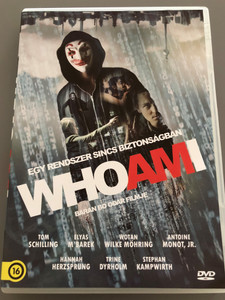 Who Am I DVD 2014 / Egy Rendszer sincs Biztonságban / Directed by Baran Bo Odar / Starring: Tom Schilling, Elyas M'Barek (5999546337761)