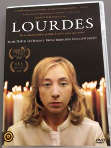 Lourdes DVD 2009 / Directed by Jessica Hausner / Starring: Sylvie Testud, Léa Seydoux, Bruno Todeschini, Elina Löwensohn (5999546335477)