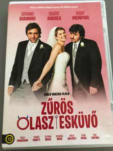Un matrimonio da favola DVD 2014 Zűrös Olasz esküvő / Directed by Carlo Vanzina / Starring: Stefania Rocca, Adriano Giannini, Osvárt Andrea, Ricky Memphis (5999546337358)