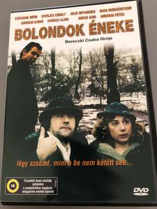 Bolondok éneke DVD 2005 Fool's Song / Directed by Bereczki Csaba / Starring: Steéphane Höhn, Eperjes Károly, Julie Depardieu, Maia Morgenstern, Kovács Lajos (5996357343660)