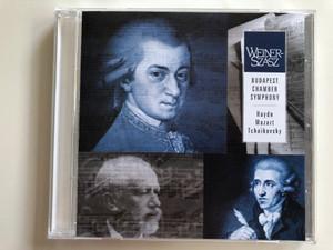 Weiner-Szasz / Budapest Chamber Symphony / Haydn, Mozart, Tchaikovsky / Budapest Chamber Symphony Audio CD / BCS-WSZ 010