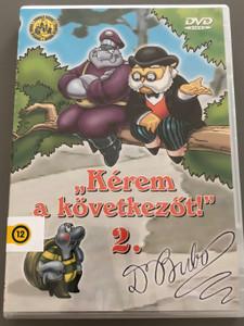 """""""Kérem a következőt"""" 2. DVD 1974 / Hungarian Cartoon TV Series / Written by Rohmányi József / Directed by Nepp József, Ternovszky Béla (5996051510115)"""